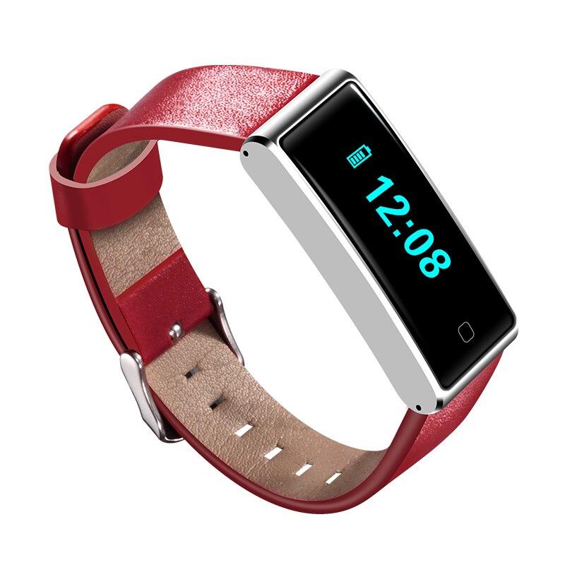 2017 nouveau Bracelet élégant de traqueur d'activité de bande de forme physique intelligente IP67 étanche Bluetooth pour iOS et Android