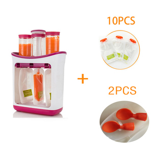 Image 1 - Dropshipping Baby Food Maker Squeeze Food Station Organic Food For Newborn Fresh Fruit Container Storage Baby Feeding Maker