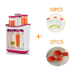 Food-Maker Fresh-Fruit-Container-Storage Squeeze Baby for Newborn