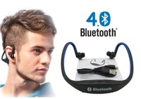 Wireless Bluetooth Earphone Sport Headset With Microphone For Iphone Xiaomi Samsung Android IOS System Sport Waterproof
