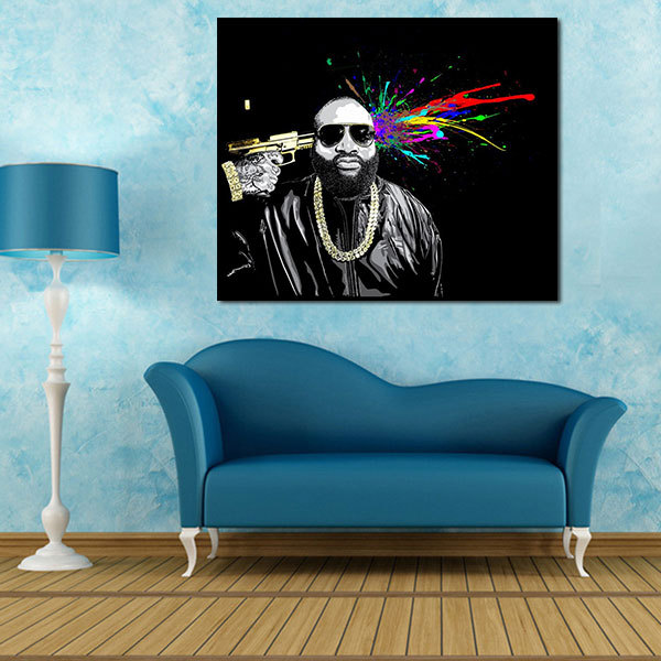 A1 a2 a3 digital canvas prints mastermind rick ross great figure art prints modern