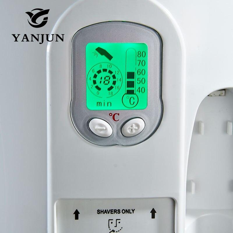 Secador de pelo Yanjun para montaje en pared de Hotel secador de piel electrónico dispositivo secador de velocidad estantes de baño público 220V YJ 2130 - 5
