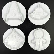 Space Ship Cookies Molds