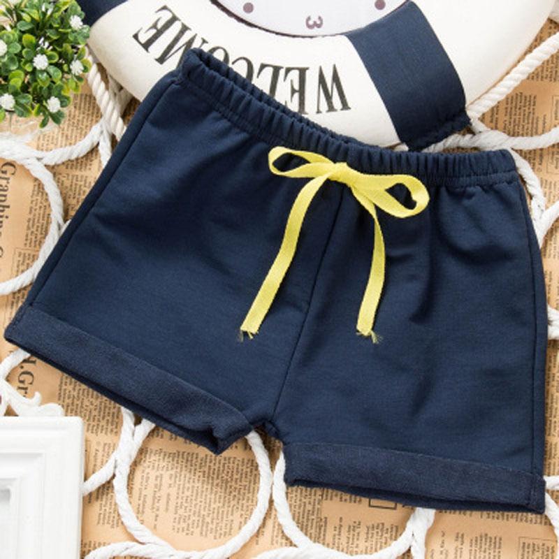 Sommartunna barn bär shorts Pojkebarn och flicka 5 byxor Massiv - Barnkläder - Foto 3