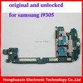 O envio gratuito de 100% versão européia de trabalho mainboard original para samsung galaxy s3 i9305 placa de sistema motherboard 100% original