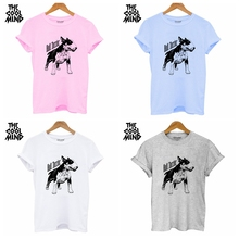 100% Cotton Bull Dog Print T Shirt