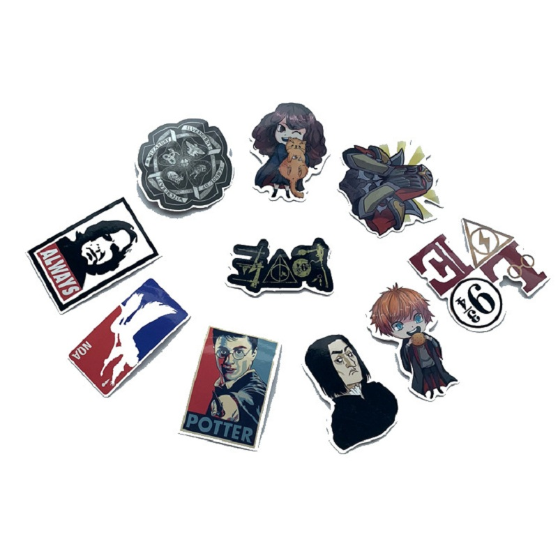 Hot Price 5f0b 53pcs Luggage Sticker Harry Series Sticker