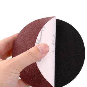 "Image 5 - 40 יחידות אדום עגול נייר זכוכית מלטש דביקה נייר סנדר 5 ""125 מ""מ גריסים 320/400/600/800/1000/1200/1500/2000"
