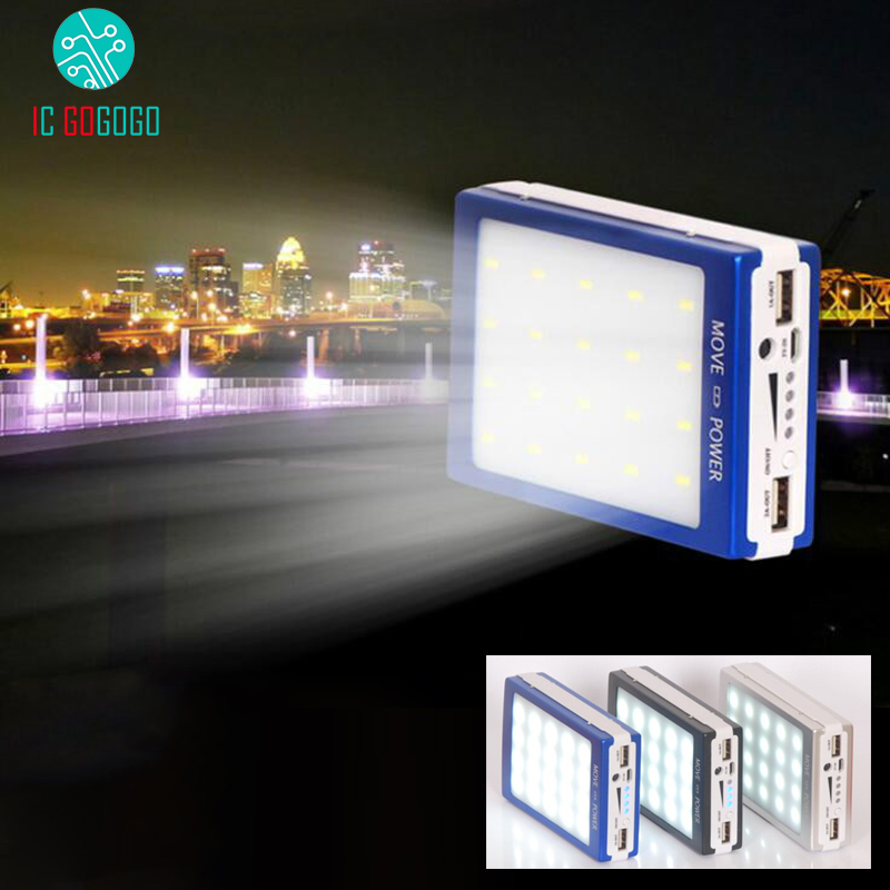 5v 1a 2 1a Solar Energy Power Bank Charger Module Dual Usb