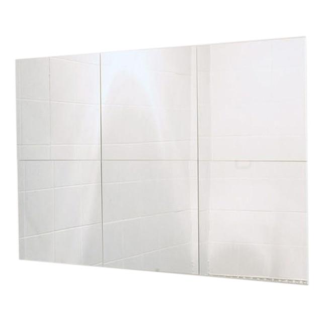 US $12.0 8% di SCONTO Pratica 6 pz Specchio Quadrato Piastrelle Per Bagno  Camera Da Letto DIY 28 cm x 28 cm in Pratica 6 pz Specchio Quadrato ...