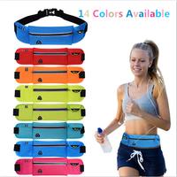TANLUHU Hot Waterproof   Running   Belt Bum Waist Pouch Fanny Pack Camping Hiking Zip Bags