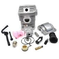 Engine Cylinder Piston Fuel Oil Filter Hose Intake Manifold Oil Pump Worm Kit For STIHL 023