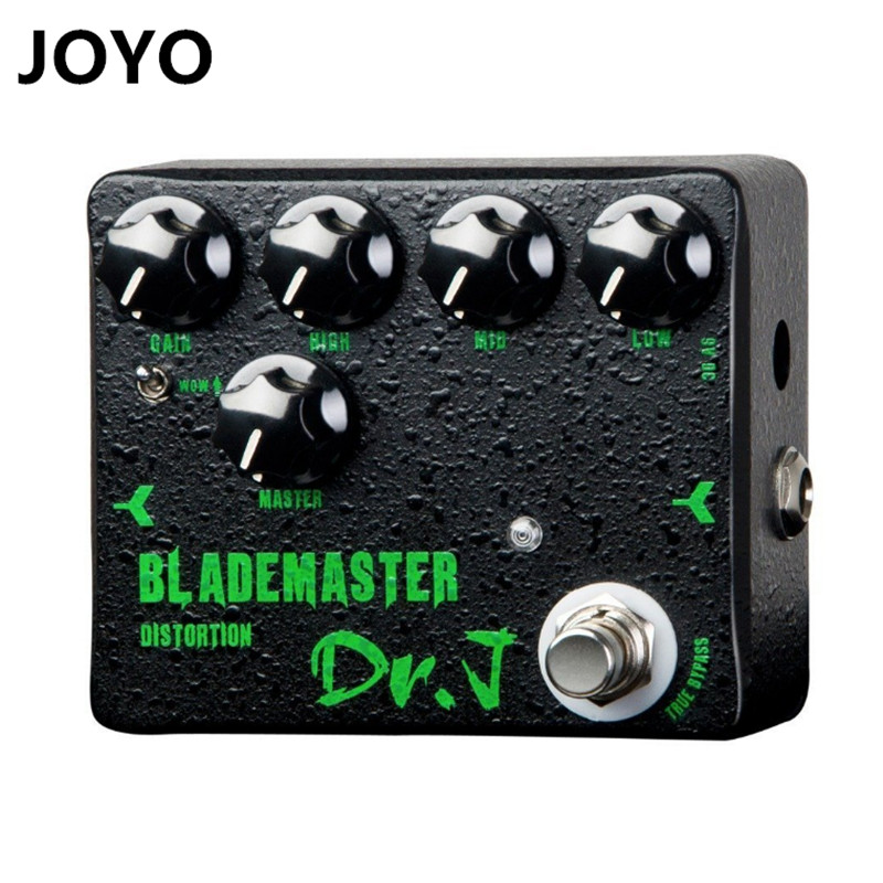 Dr. J Blademaster Distortion Effect Hand Made Electric Guitar Effect Pedal  for metal solo True Bypass велосипедные перчатки mai senlan m81013