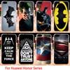Phone Cases For Huawei GR5 Honor4X Honor 4X Play 5X 7I shot x Honor7I Mate 7 Mini KIW-TL00 Covers Housing Spiderman War Skin Bag