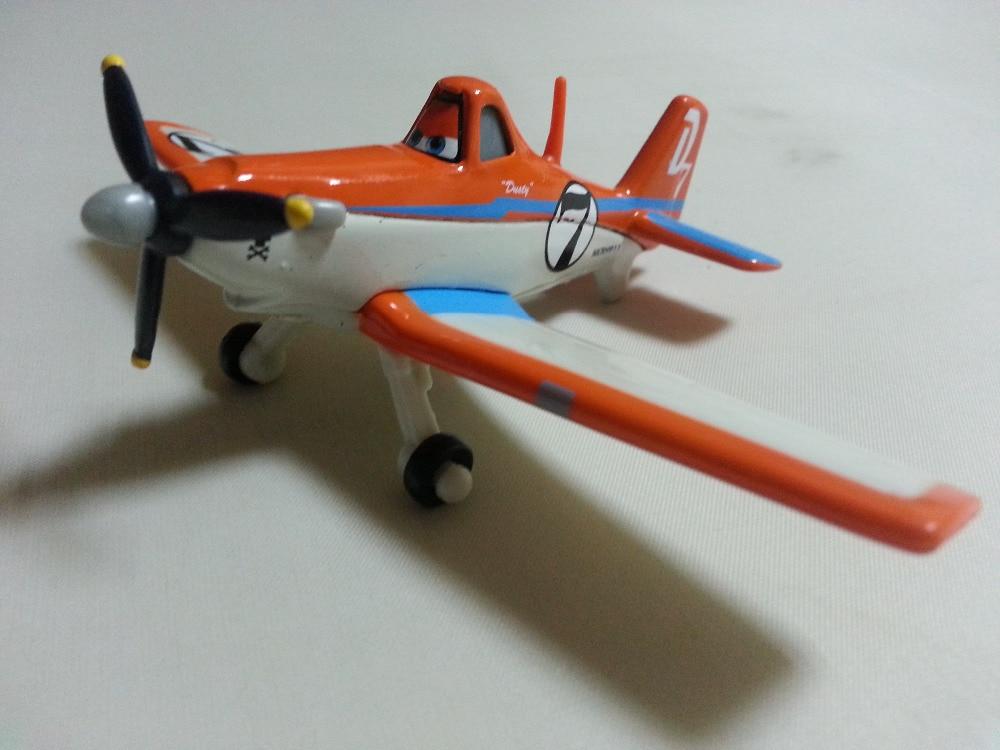 Disney Pixar Planes No.7 Dusty Crophopper Metal Diecast Toy Plane 1:55 Loose New In Stock & Free