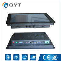 China Wholesaler Customized Advertisement 15 Inch Gaming Table Resistive Touch Pc Desktop With Intel Celeron 3855U