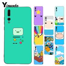 Yinuoda Adventure Time with Jake and Finn bmo Coque Phone Case for Huawei P9P10 Plus Mate9 10 Mate10 Lite P20 Pro Honor10 View10(China)