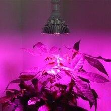 30W E27 40LED Grow Light Lamp Bulbs for Flower Plant Growing Indoor Grow Lights Garden Greenhouse Hydroponic Grow Light