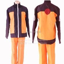 Anime naruto Cosplay Uzumaki Naruto Hokage Halloween party cosplay costume for man and women clothes