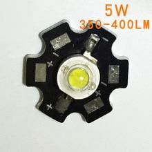 2шт 5 Вт белый светодиодный радиатор алюминиевая Базовая пластина печатная плата подложка 20 мм лм части/фонарик/Лампа прожектор для DIY огни