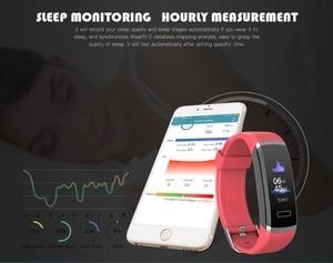 Image 5 - חכם צמיד לב צג כושר פעילות tracker צבע מסך חכם צמיד נשים גברים smart watch passometer tacker חם