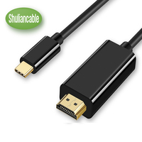 Shuliancable USB C Cable 3 1 Type C To HDMI 4K 60HZ 1 8M 6Ft HDTV