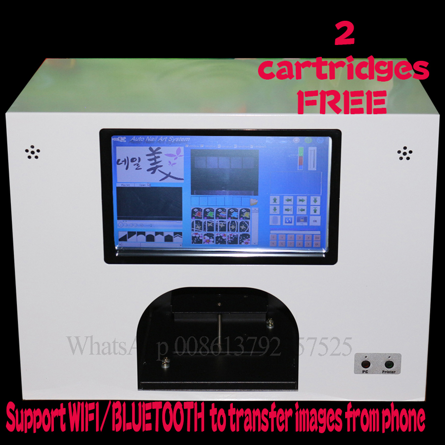 nail and flower printing machine free shipping worldwide CE approved