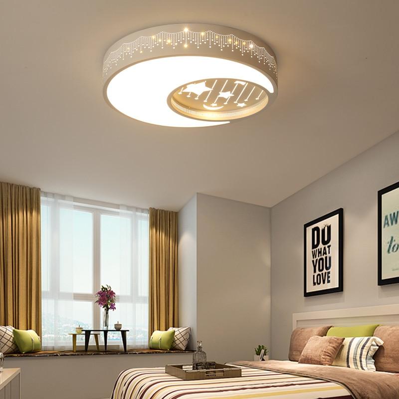 Modern Led Ceiling Light Children Room Creative Animal Cartoon Lamp Boy