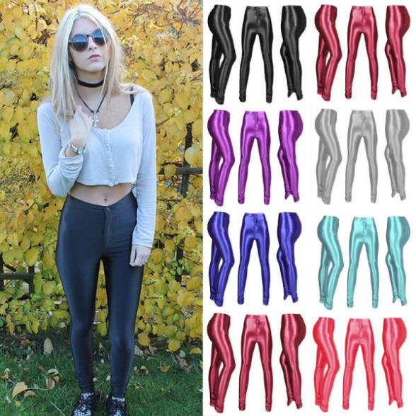 2016 Women American Football Pattern 3d Leggings Stretch: Compare Prices On Shiny Disco Pants- Online Shopping/Buy
