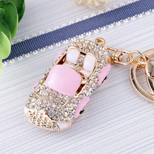 18 color cute car styling keychain a variety of model ladies bag pendant gift llaveros para mujer New Arrival