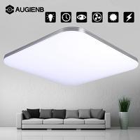 AUGIENB Modern Square 16W AC110 240V 1600LM Energy Efficient LED Ceiling Lights Modern Flush Mount Fixture Lamp Lighting Decor