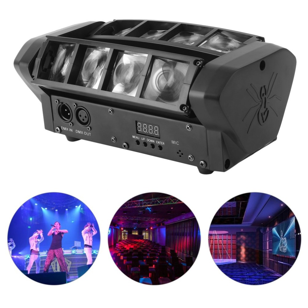 90W Moving Head Light RGBW Beam LED Stage Light Home Party DJ Disco KTV Club Outdoor Indoor Lighting Projector Lights EU Plug 2pcs lot dmx512 rgbw 4in1 mini led moving head light for disco dj club home party and stage effect lights 10w led beam light