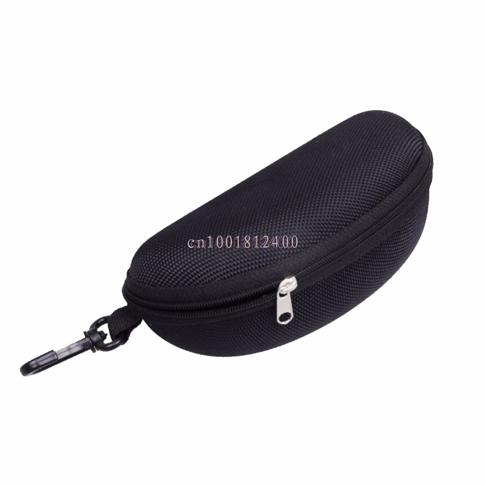 1PC Sunglasses Case Reading Glasses Carry Bag Hard Zipper Box Travel Pack Pouch Case