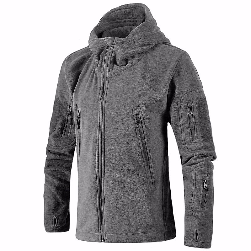 Outdoor Men s winter coat army tactical military hooded fleece warm outwear softshell Windproof Hunting Camping thermal jacket us military fleece tactical jacket men thermal outdoors polartec sport hooded coat militar softshell hiking outdoor army jackets