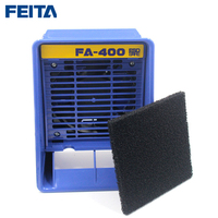 FEITA FA 400 Portable Solder Smoke Absorber ESD Fume Extractor For Soldering Iron Work Soldering Smoking