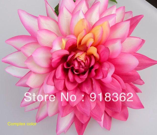 Western styleeconomicfree shipping20pcslotbig silk artificial western styleeconomicfree shipping20pcslotbig silk artificial dahlia mightylinksfo