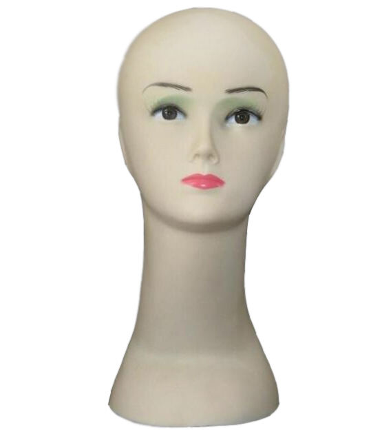 Free shiping Women's Mannequin Head Hat Display Wig training head model head model femal head model