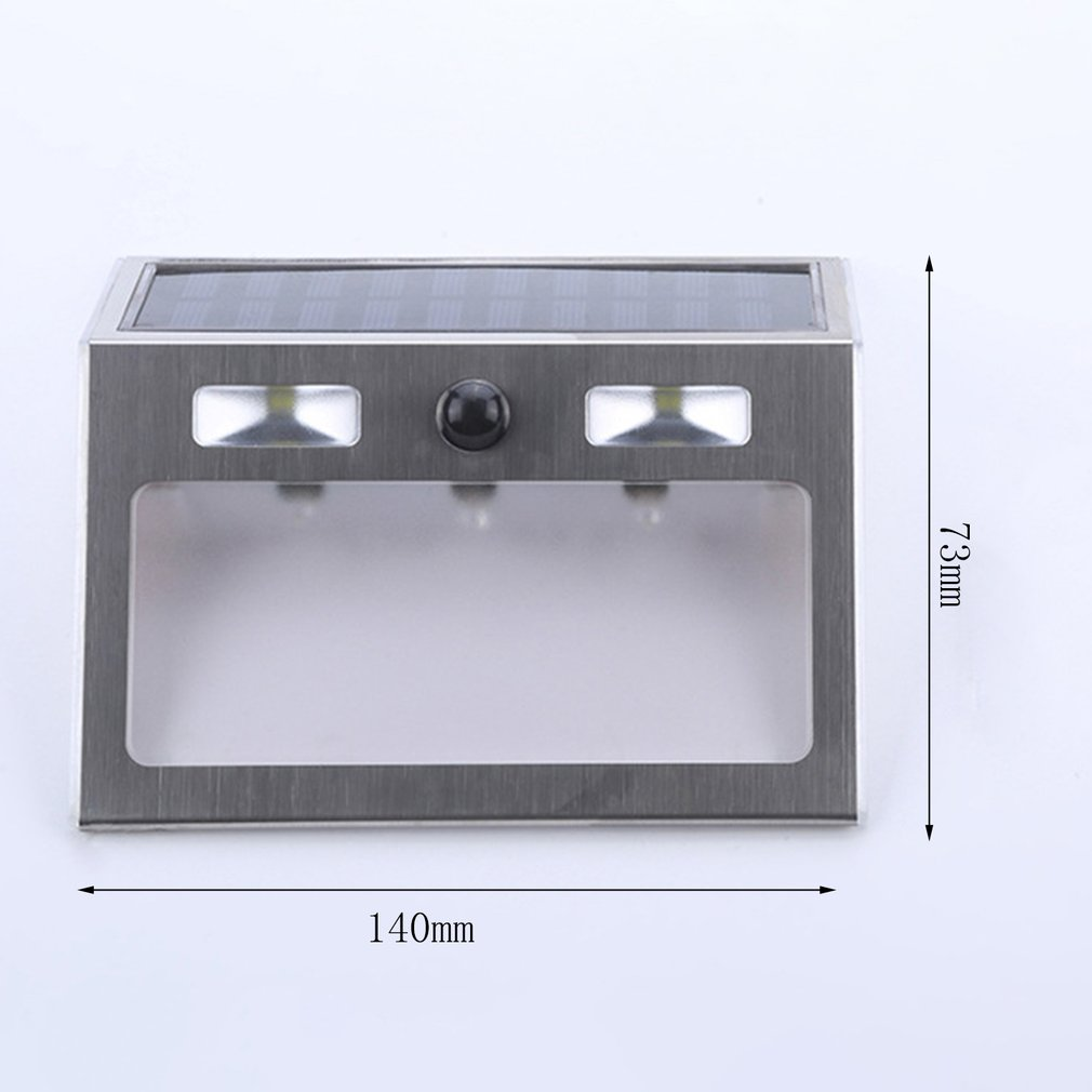 Polysilicon house number lamp Solar Power LED Light Sign House Hotel Door Address Plaque Number Digits Plate 5