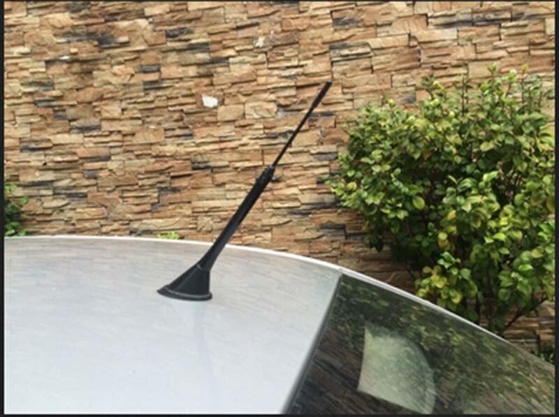 Крыши автомобиля Антенна короткие Ремонт радио антенна шурупы подходит для Vw Polo Bora Skoda Fabia Passat B5 1 шт. автомобиля Средства для укладки волос