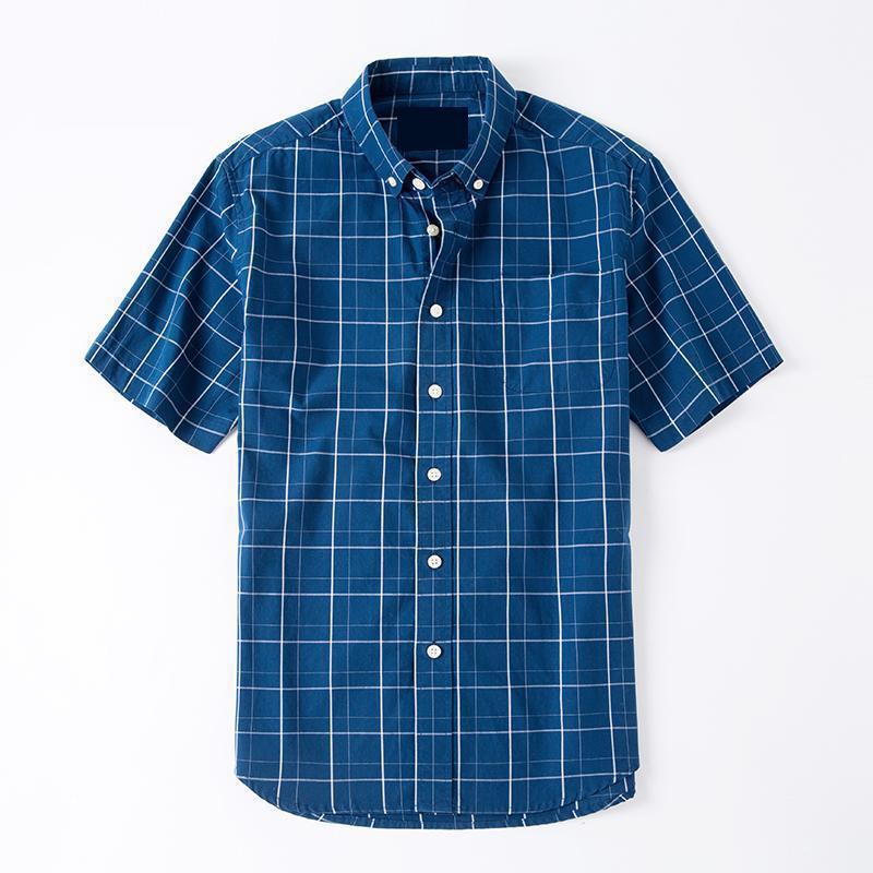 New Summer Loose Short Sleeve Shirt Cotton Leisure Plus Professional Menswear Super Large Fashion White Blue Sizem-4xl 5xl 6xl Fancy Colours