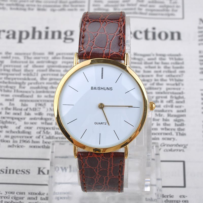 quartz watch simple men s leather watches analog rose gold steel quartz watch simple men s leather watches analog rose gold steel fashion casual wristwatch clock relogio masculino j mhm520 c6 in quartz watches from