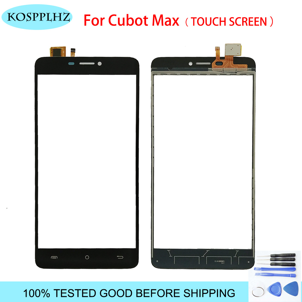 6inches For Cubot Max Touch Screen Glass Original Guarantee Original New Glass Panel Touch Screen Tools