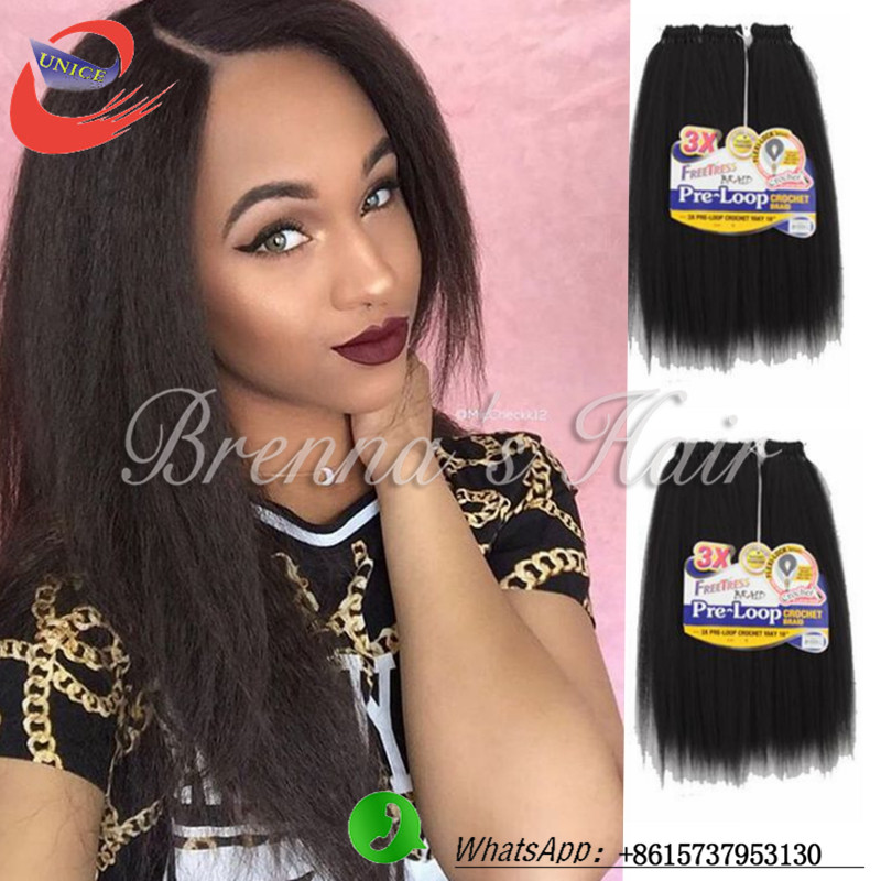 New Coming Hair Extension Kinky Straight Hair Weave Natural And Soft