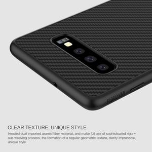 Image 4 - Case voor Samsung Galaxy S10 Plus S10 + S10E Nillkin Synthetische Fiber Carbon Fiber PP Back Cover sFor Samsung Galaxy s10 Plus Case