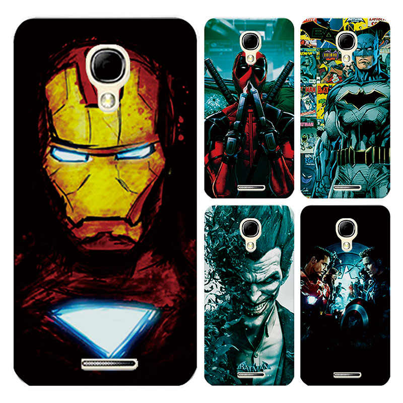 "Für Alcatel One Touch Pixi 4 5,0 ""5010 Fall Abdeckung Charming Marvel Avengers Captain America Iron man Funda Capa für Alcatel 5010D"