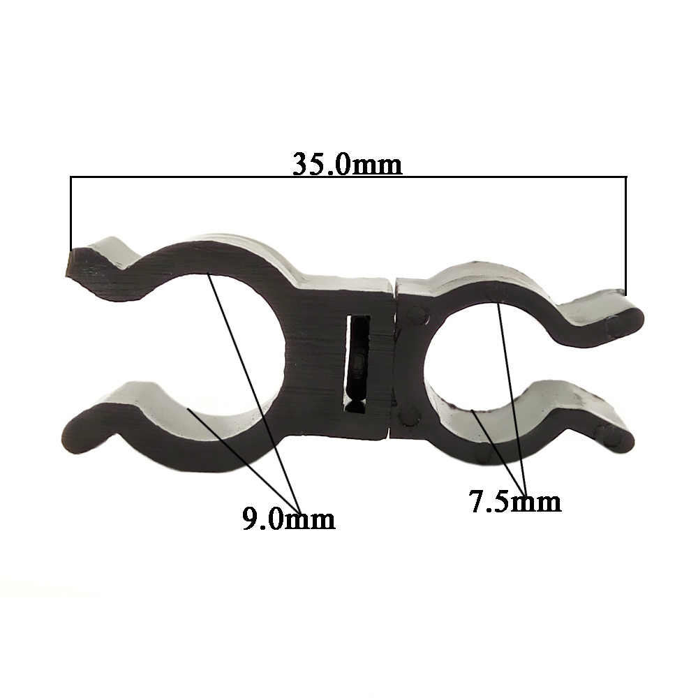 medium resolution of  cnikesin 10x rotatable universal type car plastic tube wiring harness clips auto tubing nozzle fixed fastener