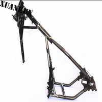 XUANKUN Motorcycle Parts GN250 Frame Hole Modification Hard Tail Frame