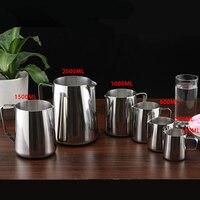 Eworld Edelstahl Milch aufschäumen krug Espresso Kaffee Krug Barista Handwerk Kaffee Latte Milch Aufschäumen Krug Kitche-in Kaffee-und Espressomaschinen aus Haushaltsgeräte bei