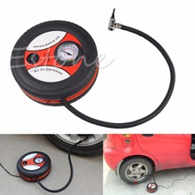 1PC New Mini Portable Electric Air Compressor Pump Car Tire Inflator 12V 260PSI