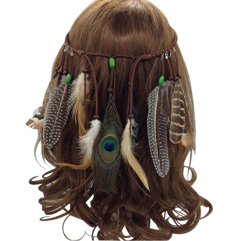 Fashion Really Feather Headband Native American Headband ...